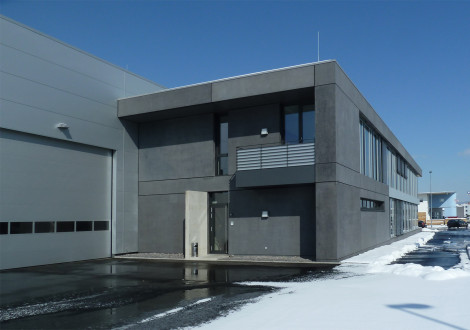 FABRINO Betonfassade imprägniert Sicorol Oberflächenschutz