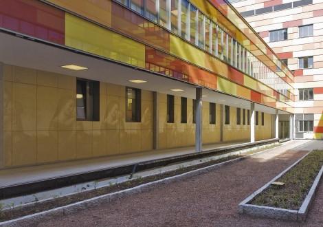 FABRINO Fotobeton Hotelfassade Betonfertigteile individuelles Motiv in Beton 5