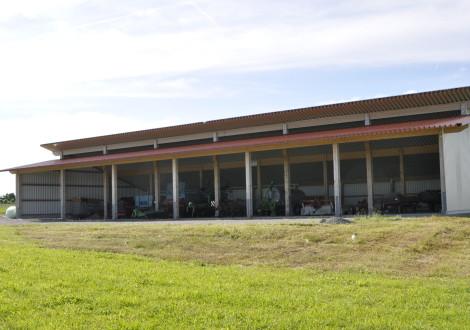 FABRINO High Grade Faser offene Bergehalle Bodenplatte Beton faserbewehrt 2