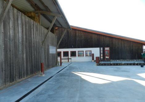 FABRINO High Grade Industrieboden Faserbewehrung mit Statik Kühllagerhalle 16