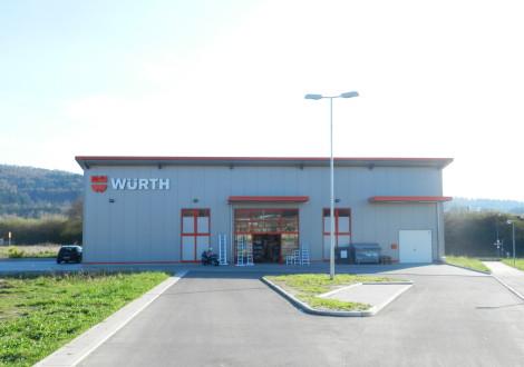 FABRINO High Grade Würth Fachmarkt Industrieboden keine Rostflecken an Betonoberfläche