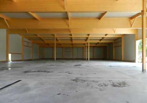 FABRINO Kartoffelhalle Landwirtschaft mit High Grade Kunststoff faser statisch anrechenbar 12