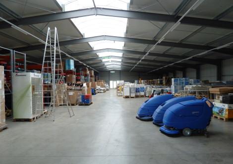 High Grade Baufachmarkt Industrieboden faserbewehrt (2)
