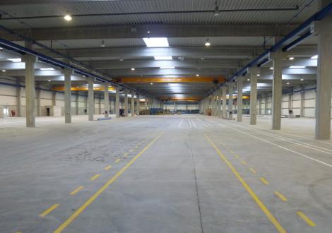 High Grade Produktionshalle Industrieboden faserbewehrt (2)