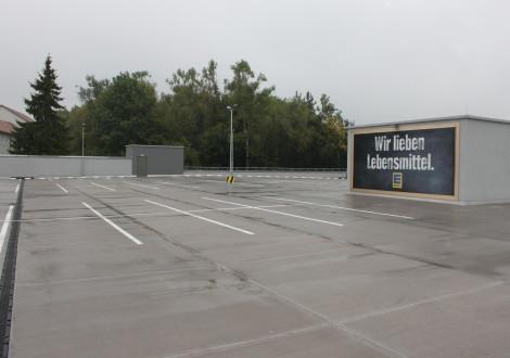 Parkdach mit High Grade Aufbeton mit Kunststofffasern (2)