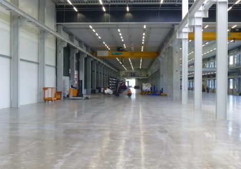 FABRINO Concrix Kunststofffaserbewehrung statisch anrechenbar Produktionshalle 2