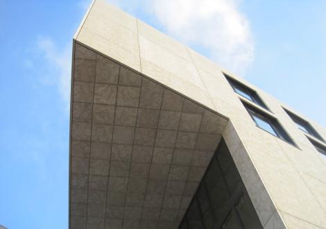 FABRINO Fotobeton Hotelfassade Betonfertigteile individuelles Motiv in Beton 1