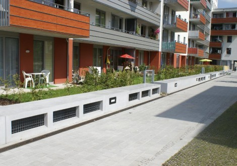 FABRINO Sitzbank Beton Oberflächenschutz Sicorol Imprägnierung