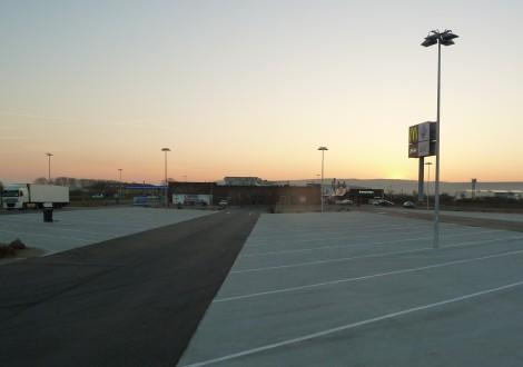 FABRINO High Grade Faserbewehrung Autohof Betonaußenflächen Kunststofffaser mit Statik 12