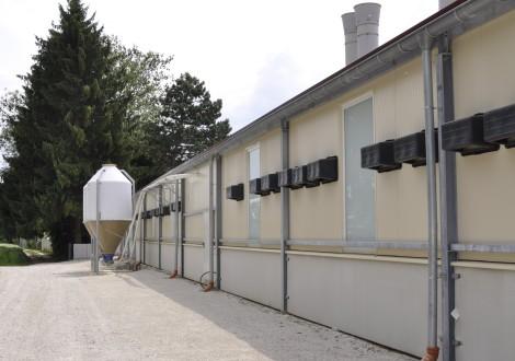 FABRINO High Grade Geflügelstall Betonsohle Faserbewehrung mit Statik