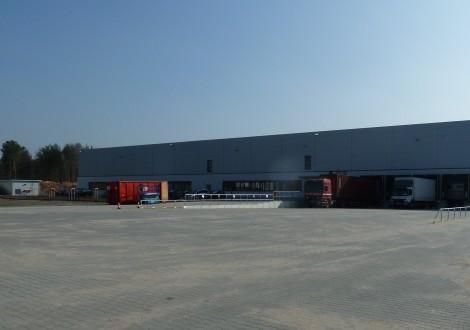 FABRINO High Grade Logistikzentrum Kosteneinsparung Faserbewehrung Industrieboden 2