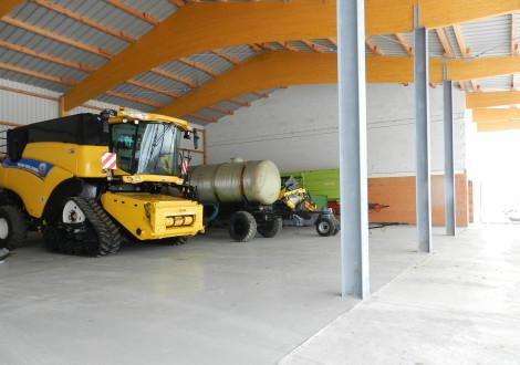 FABRINO High Grade Offene Bergehalle Betonhallenboden Kunststoffaser mit 6