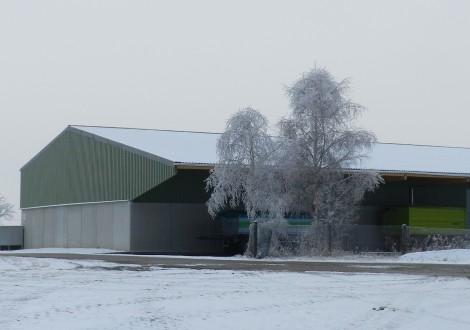 FABRINO High Grade statisch anrechenbare Kunststofffaser Futtermittelhalle Landwirtschaft keine Korrosion an der Betonoberfläche 22