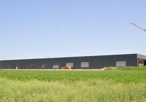 Faserbewehrte Bodenplatte mit Betonkernaktivierung High Grade (1)