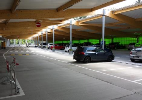 Park- und Anlieferbereich Fachmarktzentrum mit High Grade Faserbewehrung (1)